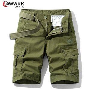 WWKK Men Shorts 2020 Fashion Beach Shorts Mens Casual Camo Camouflage Short Pants Male Bermuda Cargo Overalls