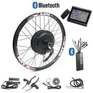 CSC 48V 1000W bicicleta eléctrica Kit de conversión para el disco del freno de la bici con pantalla LCD Regeneración y bluetooth 24 '' - 29 ''