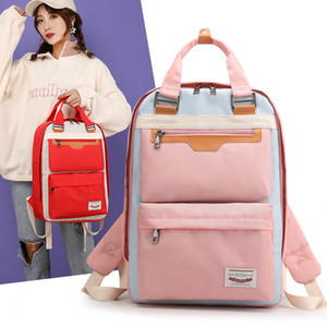 New Fashion Mummy Backpack for Girl Women Waterroof Backpack Nylon School Bags Casual Ladies Laptop Backpaks Wholesale