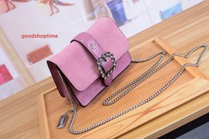 19ss Classic Ladies Bag Printed Letter Chain Bag Genuine High Quality Leather Wallet Crossbody Shoulder Bag men women