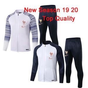 2019 2020 2 звезды Франция survetement куртка Griezmann тренировочный костюм футбол Джерси спортивные костюмы MBAPPE спортивный костюм футбольная куртка спортивный костюм