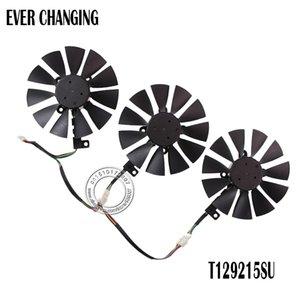 Ventiladores ventoinha de arrefecimento Nova 87mm Everflow T129215SU 12V DC 0.50AMP 4Pin 4 Fios ventoinha para Asus GTX980Ti R9 390x