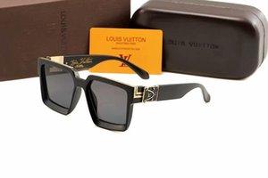 2019 Lüks Desinger Kare Güneş gözlüğü Kadınlar Erkekler Moda Aksesuar Yüksek Kalite 03889 için Damga UV400 Full Frame güneş gözlüğü ile