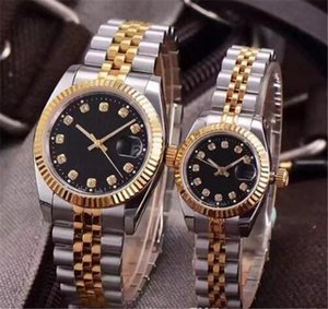Luxury Wristwatches Lovers Couples Style Classic Automatic Movement Mechanical Fashion Men Mens Women Womens Watch Watches Wristwatch