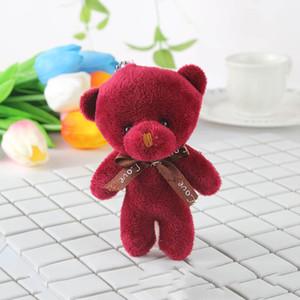 Teddy Bear Bouquets Flor Toy Baby Girl Plush Mini desenho suave de casamento casa decoração do urso Brinquedos Ornamentos