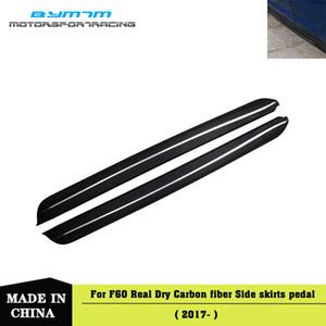 Real fibre de carbone sec côté pare-chocs Bienvenue pédale pour MINI F60