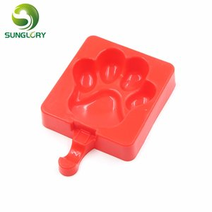 Home-made DIY Silicone Icecream Cake Mold Ice Lolly Moldes Baking Tools For Cakes Fondant Cake Decorating Tools Cookie Mould