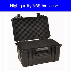 Tool case toolbox suitcase Impact resistant sealed waterproof ABS case security equipment camera with pre-cut foam lining yRdU#