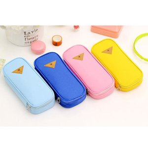 Limit Shows Creative Canvas Pencil Case Large Capacity Pen Box Stationery Pouch Makeup Cosmetic Bag kawai Pencil case hot