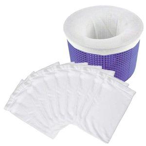 10 20 30pcs Set Filter Storage Pool Skimmer Socks Nylon Swimming Pool Filter Socks For Baskets Skimmers Supplies