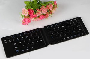 Computer Hot Sale Teclado Inalambrico 2019 New Three System General Wireless Mini Bluetooth Keyboard Folding Notebook Mobile Usb Interface