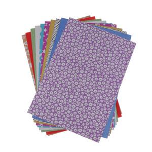 10 folha de papel de Origami dobrar papel para o Natal Origami Paper DIY Artes E Ofícios
