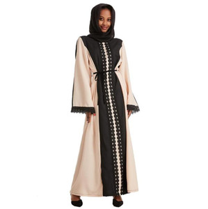 latest saudi arabian muslimische kleider satin abaya women muslim islamic clothing mariage kaftan robe marocaine dubai turkey