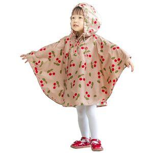 SAFEBET Moda cereja poncho viagens de lazer capa de chuva