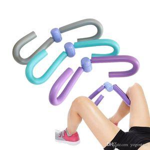 2019 Fitness Thigh Master Muscle Toner AB Leg Arm Shaper Trimmer Exerciser Beautiful leg clip rotating leg trainer beauty chest
