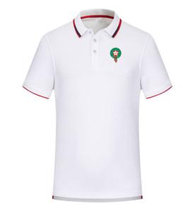 Marruecos 2020 de manga corta de la solapa de la camisa de polo de la primavera y el verano de algodón de fútbol nuevo polo de los hombres puede ser DIY polo de los hombres personalizados