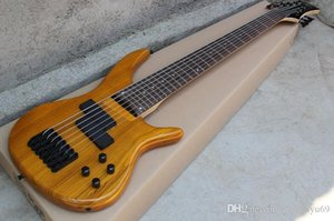 Custom factory new custom bass guitar 7 string electric bass guitar