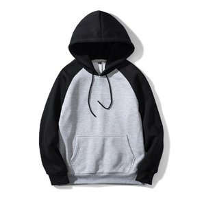 2019 designer Mens Hoodies Fashion Style Hip Hop Oversize Loose Hooded Sweater Coat with 7 Colors EUR Size S-2XL wholesale
