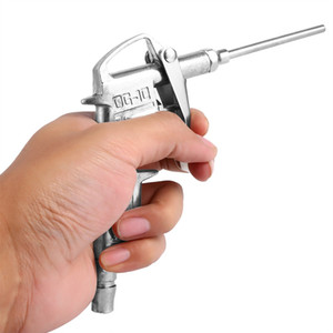 10 pcs Air Compressor Duster 1/4 polegada Air Blow Gun Liga De Pulverização Bico Pulverizador Lidar Com Ferramentas Elétricas Air Duster para Pintor Spray