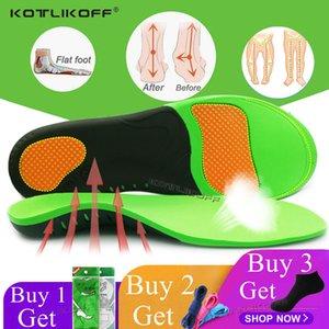 KOTLIKOFF de haute qualité EVA orthétique Semelle intérieure pour les pieds plat Arche de soutien Chaussures orthopédiques Sole semelles pour les hommes et les femmes Tapis de chaussures