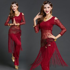 New Belly Dance Suit Women Practice Clothes Female  Dancing Performance Professional Costumes Oriental Dance Garment H4530