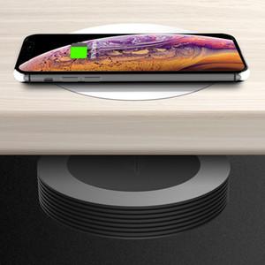 M1 [2020 VENTA CALIENTE] A DISTANCIA inalámbrico cargador rápido del cargador de 10W rápida Qi Placa de Carga para iPhone de Samsung LG Todas las Dispositivos Qi