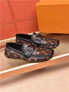 Louis Vuitton Shoes,무료 배송 Hococal 높은 품질의 고급 패션 블루 실버 남성 신발 Mocassin 남성 가죽 캐주얼 신발 남성 정장 구두 사이즈 38 ~ 45
