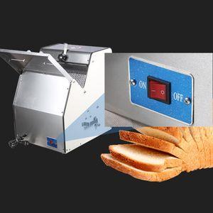 Elettrico 31 Fette Piazza del pane affettatrice macchina in acciaio inox al vapore Bun affettatrice commerciale Toast Slicing Machine