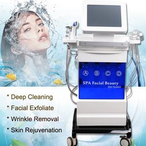 Hydra Pele Facial Beauty Care Pele Dispositivo Diamond Head dermoabrasão Preto Removal máquina Acne Pore Peeling cuidado Microdermabrasion