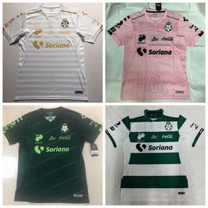 Novo 2019 2020 2021 Santos México Laguna de Futebol casa longe 3 19 20 futebol camisa S-4XL