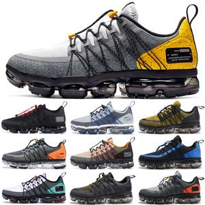 2019 Nike Vapormax Run Utility Uomo Scarpe da corsa Best Quality Nero Antracite Bianco Rifletti Argento Sconto Scarpe Sport Sneakers Taglia 40-45
