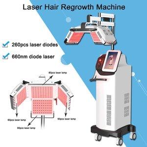 red laser light 660nm fast hair growth machine Hair Regrowth Hair Care Therapy Anti-hair Loss treatment Machine