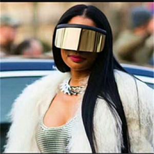 Europa und die Vereinigten Staaten arbeiten große Rahmen Sonnenschirm Sand-Beweis Sonnenbrille großer Maske Elektro-Auto-Windschutzscheibe Gläser Auge protecFashion2020