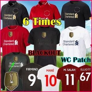 19 20 21 VIRGIL Liverpool hombres Camiseta de fútbol visitante azul FIRMINO 2020 2021 Salah MANE camiseta de fútbol BECKER ALEXANDER-ARNOLD MINAMINO top kit