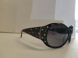 Flor de feijão plástico com diamante branco cavalando óculos de sol Sunglasses Style and fashion womens sunglasses Luz do sol das mulheres