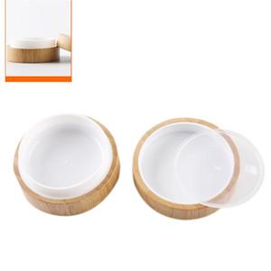 Trucco Sub-imbottigliamento 30g / 50g portatile di bambù frantumare - resistente Sub-imbottigliamento Box Per Viso Cura Della Pelle Packagin Cosmetici Contenitore