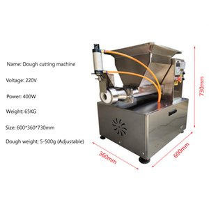 Commercial electric dough divider rounder block rounding machine automatic cutting machine bread machine for small business for sale