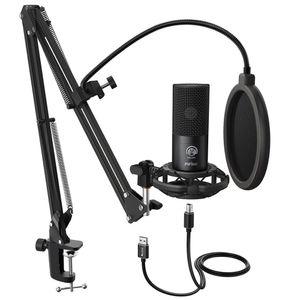 Freeshipping USB Microphone for Mac الكمبيوتر المحمول وأجهزة الكمبيوتر لتسجيل البث Twitch بالصوت البث يوتيوب سكايب K670