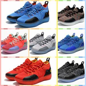 NKD11B Кевин Дюрант 11 баскетбольная обувь дизайнерская обувь Zoom off женщины KD 11s работает спортивная обувь класса люкс KD EP Elite Low Sport Sneaker