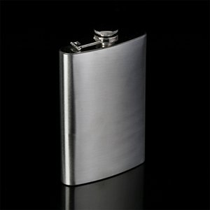 Stainless Steel Mini Hip Flask Flagon Portable Wine Whisky Alcohol Pot Bottle Mug Drinkware For Drinker Drinkware Personalized