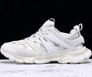 Homens mulheres sapatos casuais trilha 3,0 Sneakers Tess Paris homens Gomma Maille Preto Low trilha 3M Triple S sapatos ao ar livre Jogging desajeitado
