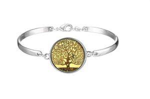 Designer bangles bijoux de créateurs de luxe femmes bracelets beauty and beast free life tree love bracelet wholesale jewelry