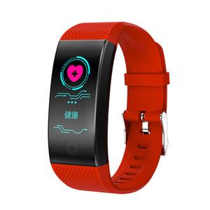 QW18 الذكية اسوارة ضغط الدم الأوكسجين في الدم رصد معدل ضربات القلب IP67 للياقة البدنية المقتفي الذكية ساعة اليد ووتش للحصول على Andorid