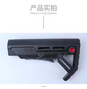 Тактическая Пластиковая замена MOD Stock Carbine Stock пейнтбольных Аксессуары Airsoft Воздушных пушки AEG M4 AK Gel Blaster CS Sports