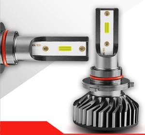 Professional car LED headlight,2 PCS F2 LED headlight H1 H3 H4 H7 H11 9005 9006 9012 led car light bulb 6000k 4000LM 12V 24V