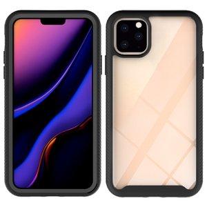 SAF KASE Uzay Şeffaf Kılıf Hibrid Zırh Vaka Özelleştirmek Darbeye Kapak iphone XS MAX XR yeni Iphone 2019 Xi max Xi R