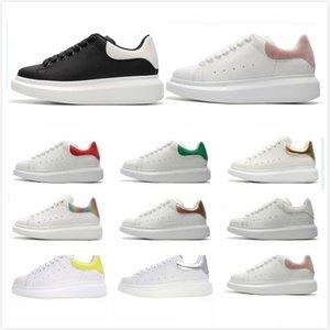 Mulheres Homens calçados casuais Moda Branco Camurça Plano Sapatos Plataforma Sports Sneakers Velvet 3M reflexivo Grosso Shoe inferior 36--45