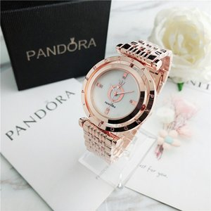 38mm ladies quartz watch ladies simple rotating dial style metal steel strap quartz watch relojes flip with box