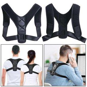 Posture Correcteur Posture Correcteur Matériel réglable Retour épaule Correction Brace Ceinture Clavicule Respirant Retour Humpback