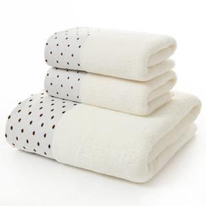 Adulto Hotel Toalha de banho 3PCS / Set 100% Algodão Toalha Gift Set Cabelo Rosto Compressed Toalhas de banho slemchep bady 60YJ032